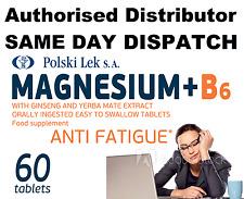 60 comprimidos de magnesio +B6 anti fatiga Zen SZEN magnez B6 przemeczenie Zen SZEN