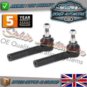 Genuine Sicher Vauxhall Astra H Zafira B 04-11 Outer Track Tie Rod Ends Pair L&R