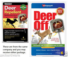 Sweeney's Havahart DEER OFF S5600 / 5600 All Season Deer Repellent 6 Count  NEW!
