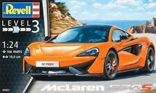 REVELL 07051. McLaren 570S. 1/24 scale Plastic Kit