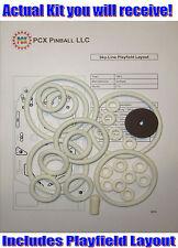1965 Gottlieb Sky-Line Pinball Machine Rubber Ring Kit - aka Skyline
