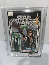 Vintage 1978 Star Wars Han Solo 12 Back* AFA 85 NM+ Unpunched* Small Head