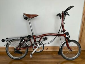 Brompton 2019 S6R in Flame Lacquer