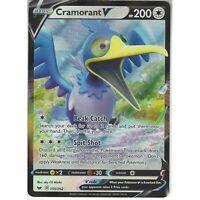 155/202 Cramorant V | Rare Holo V Card Pokemon TCG Sword and Shield S&S Base Set