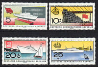 East Germany Set of Ship Stamps c1960 (June) Unmounted Mint Never Hinged (7243)