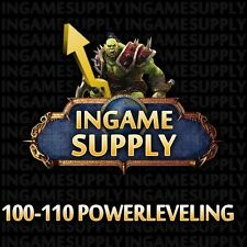 Legion WoW Powerleveling 1 x 100-110 World of Warcraft Legion Powerlevel ~1 Tag