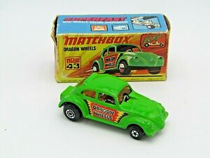 Matchbox Superfast No 43 - Dragon Wheels - Boxed