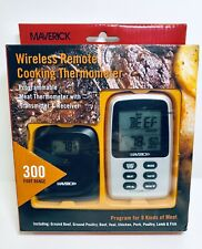 Wireless Remote Cooking Thermometer, 300 foot range, Grill Stove Oven 4003