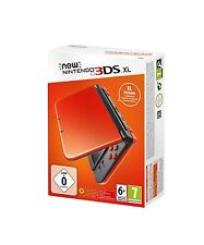 New Nintendo 3DS XL Konsole orange black schwarz | NEU & OVP