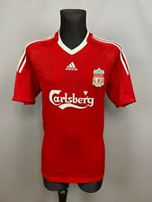 LIVERPOOL 2008 2010 HOME SHIRT FOOTBALL SOCCER JERSEY MENS ADIDAS SIZE L