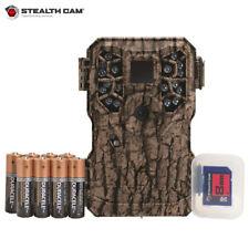 Stealth Cam PX18C 8 MP Trail Camera Combo w/Batts & SD Card- Camo
