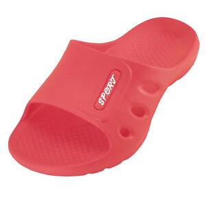 New Women's Solid Indoor Bath Rubber Flat Comfortable Waterproof Sandal Slipper