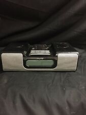 iHome Dock Speaker And Alarm Clock Model iH5B
