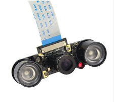 1Kit Raspberry Pi Camera Module IR Night Vision 3.6mm Fish Eye Mini Octoprint