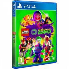LEGO DC SUPERVILLANOS PS4 JUEGO FÍSICO PARA PLAYSTATION 4 DE WARNER