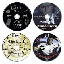 8 x CD Disc Collection - Twilight Zone, The Clock, Weird Circle, Zero Hour (OTR)
