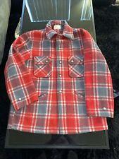 Vintage Chippewa Woolen Mills Jacket  M to L  1970/'s Mackinaw Cruiser Hunting Coat