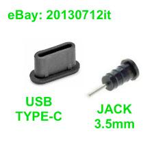 5x Anti dust Plug USB Type-C + 5x Jack Audio for Meizu PRO 5  PRO 6