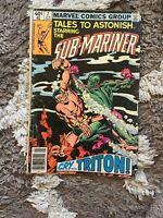 Sub-Mariner Marvel Comics Jan  2 1979 02611