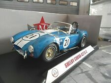 SHELBY AC Cobra 427 #21 Roadster 1965 Racing Le Mans CMR 1:18