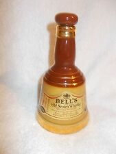 Bells Whisky Ceramic Decanter 6.6 fl oz 18.9cl British Edition EMPTY 16cm