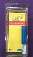 CREATIVE NOTIONS Hoop Screwdriver Brother Baby Lock Bernina Janome Singer
