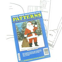 Winfield Collection Life Size Santa Woodcraft Pattern CYD28 Christmas Holiday