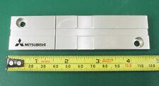 "Used Mitsubishi Aluminum 1/4"" 4.75"" Long Splicing Block For Tape Editing. TL"