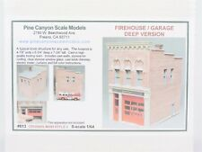 S 1/64 Scale Pine Canyon 813 Firehouse / Garage Deep Version Building Kit SEALED