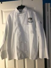 Fiu chaplin chef coat, used but in great condition, size small in men, chef wear