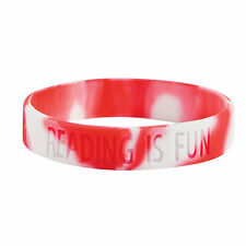 Reading Is Fun Rubber Bracelets - Jewelry - 24 Pieces
