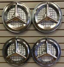 """13"""" Oldsmobile OLDS FIESTA Style FLIPPER Hubcaps Wheelcover SET"""