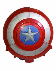 NERF Gun, Captain America Blaster Reveal Shield, Marvel Avengers Civil War