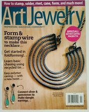 Art Jewelry Form Stamp Wire Entry Level Projects Gems Nov 2015 FREE SHIPPING JB