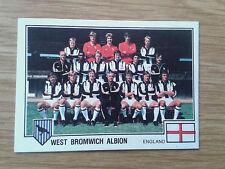 West Bromwich Albion Team Panini Euro 79 Sticker