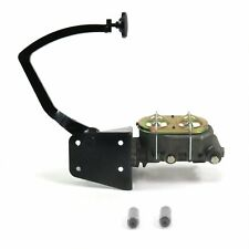 32 Ford Manual Brake Pedal kit Disk/Drum3in Blk Pad street master hot rods rod