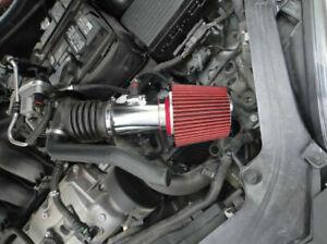 BCP RED 2006-2011 Mercury Milan 3.0L V6 Sport Ram Air Intake Kit w/Filter