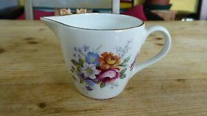 Vintage James Kent  Staffordshire Pottery Old Foley Floral Milk Jug