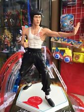 """11"""" Bruce Lee w/ Nunchaku Figure Statue The King of Kung Fu Hot Toy Collectibles"""