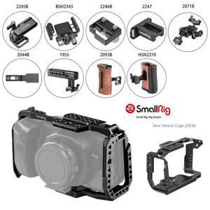 SmallRig Cage/SSD Clamp/Handle/Mount Kit for Blackmagic Cinema Camera 4K & 6K