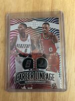 2019-20 Panini Illusions NBA Basketball Damian Lillard Career Lineage #3 Blazers