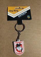 St George Dragons NRL Rubber Team Logo Keyring