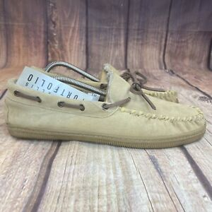 Perry Ellis Portfolio Moccasin Slippers Women Size 10 Slip On Shoes - NEW
