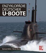 Enzyklopädie Deutscher U-Boote Modelle Typen Geschichte Bootstypen Marine Buch
