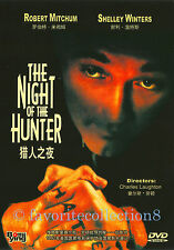 The Night of the Hunter (1955) - Robert Mitchum, Shelley Winters - DVD NEW