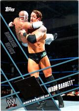 WWE Wade Barrett Topps 2011 Ringside Relics Used Ring Skirt Relic Card Black