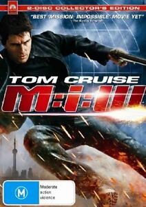 MISSION IMPOSSIBLE 3 starring Tom Cruise (3-disc DVD set, 2006) - LIKE NEW!!!