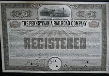 Pennsylvania Railroad Company 1000$ Bond