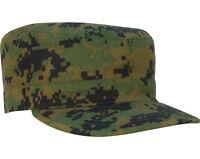 Woodland Digital Camouflage Military Patrol Fatigue Cap Rothco 4524