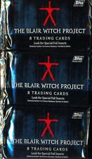 TRADING CARDS 3 BOOSTERS THE BLAIR WITCH PROJECT